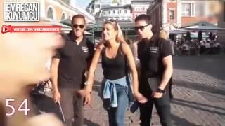 Une jeune femme touche le sexe de 100 hommes dans la rue thumbnail