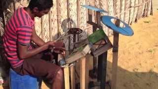 vuclip Sri Lankan Boy Makes and Plays a Drum Set