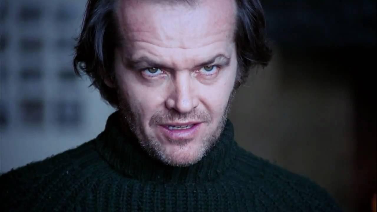 Jack Nicholson The Shining Most Memorable Stare Hd Youtube