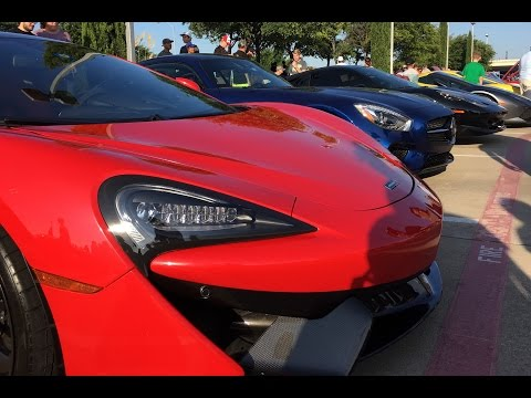 Cars and Coffee Dallas, July 2016 Vlog of interesting/cool cars including a Pimpmobile.