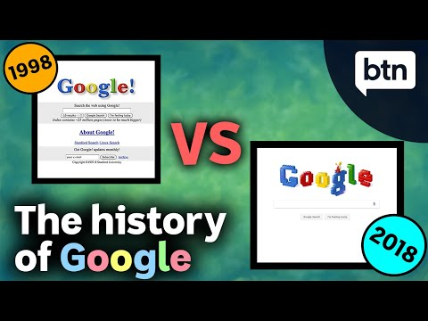 The History Of Google & How Search Engines Work - Behind The News