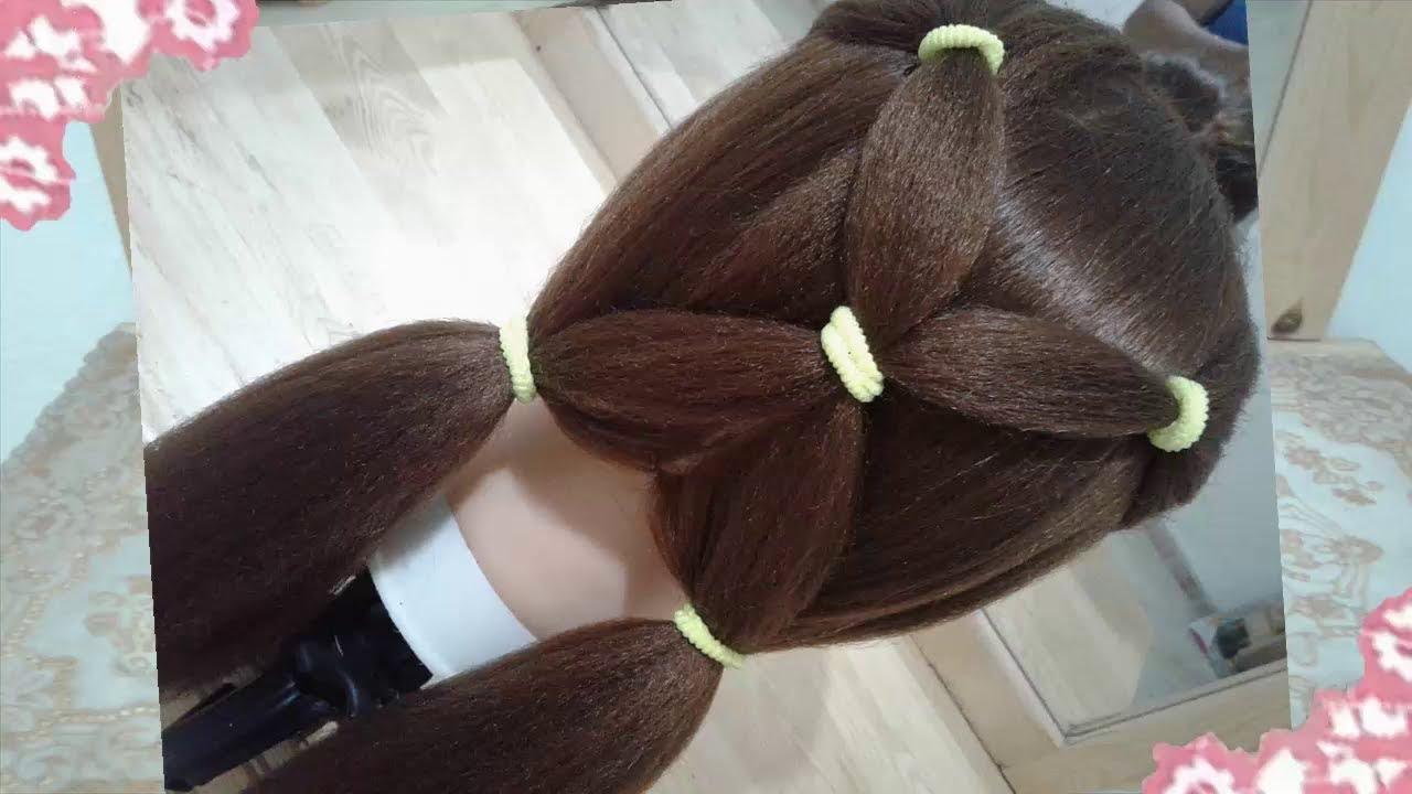 Espectacular peinados guays Fotos de ideas de color de pelo - Como hacer peinados faciles y rapidos para el verano - YouTube