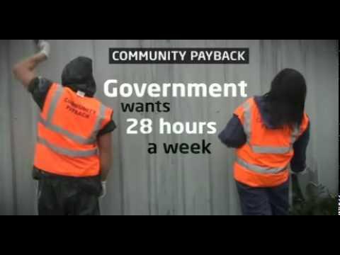 5 day week community service