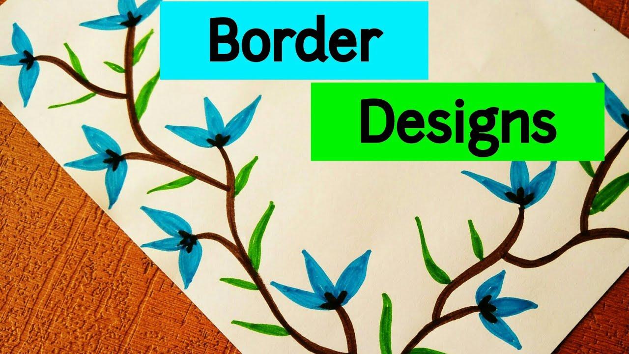 Project File Border Design Ideas  Border designs on paper  Project Design  Border Design