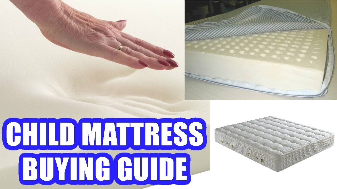 huge discount a35b5 8d149 How to Choose the Best Mattress for A Child | Kids Mattress Buying Guide