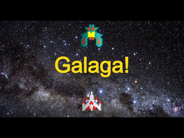 Galaga Gameplay