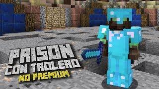 ¡EMPIEZA SERIE DE PRISON NO PREMIUM! 😱💎 SERIE CON SUBS - PRISON SERVER Minecraft