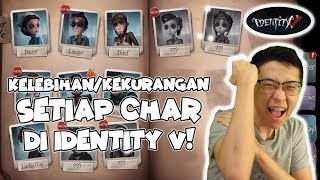 Identity V Tips Memilih Char Survivor! Gameplay Karakter Baru FORWARD!