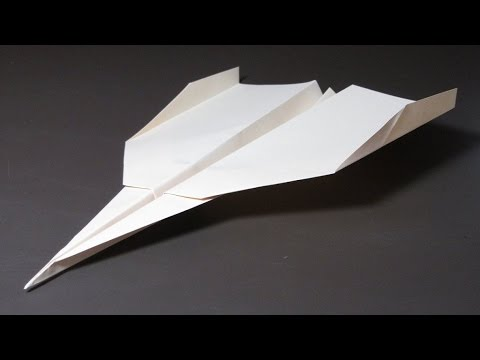 How To Make A Long Flying Paper Airplane Youtube