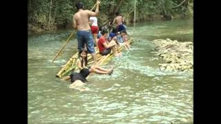 river rafting in napo river toril maribojoc bohol philippines