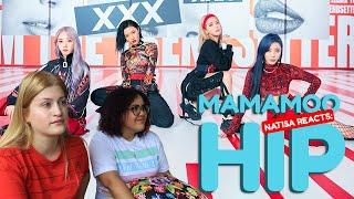 Gambar cover NATISA REACTS: [MV] 마마무(MAMAMOO) - HIP (NÓS CHORAMOS)