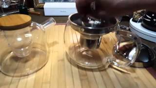 Glass Teapot with Infuser for Blooming and Loose Leaf Tea Pot by Cozyna Review