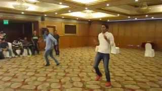 Ramanesh, Harihara Ranbir, Dinakaran and Sivalingamoorthy Dance