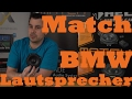 Match MS42C BMW Lautsprecher System 1er 3er X-Serie  just-SOUND CarHifi Onlineshop