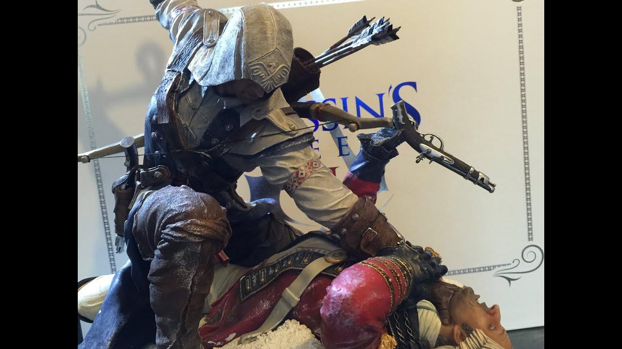 Statue Connor Premium pure Art Assassin's Creed 3 Unboxing ...