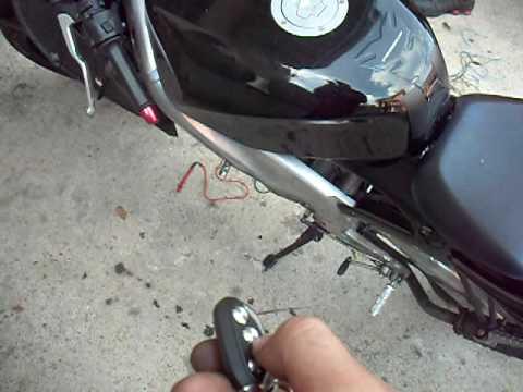 accendere motorino con batteria