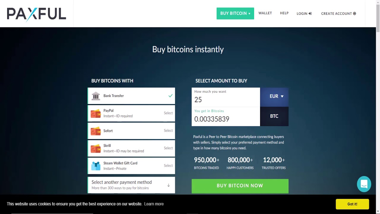 buy bitcoin instantly with checking account