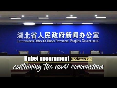 Live: Hubei government updates on containing the novel coronavirus
