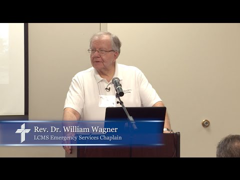 Let's consider a pre-plan for our congregation - Rev. Dr. William Wagner