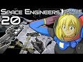 An army of PAM auto miner drones   Space Engineers Survival Gameplay   20