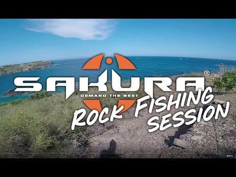 Rock fishing Session avec Joss Mouchené Team SAKURA