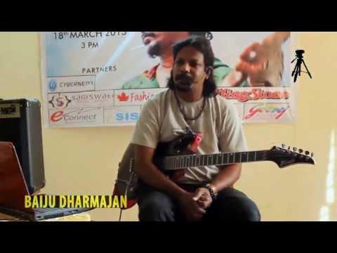Baiju Dharmajan Guitar Clinic Pilani