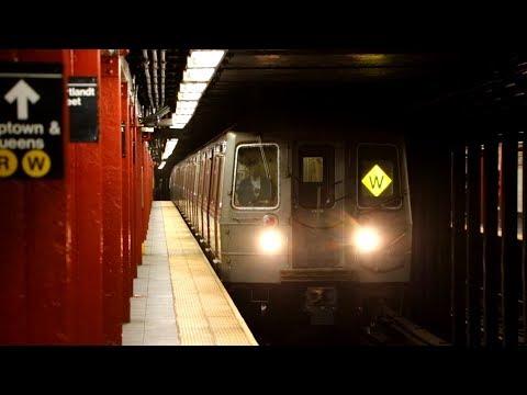 MTA New York City Subway : Cortlandt Street [ R & W Lines / BMT Broadway Line ]