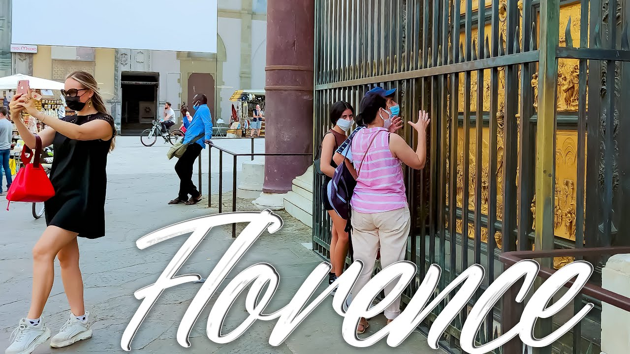 AWESOME Florence. Italy  - 4k Walking Tour around the City - Travel Guide. trends, moda #Italy