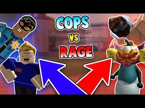 CAMPING COPS vs RAGING CRIMINALS *EPIC BATTLE*?! (Roblox Jailbreak)
