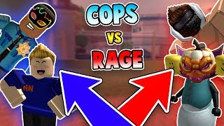 CAMPING COPS vs RAGING CRIMINALS *EPIC BATTLE*?! (Roblox Jailbreak)
