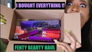 I BOUGHT EVERYTHING FROM THE NEW FENTY COLLECTION