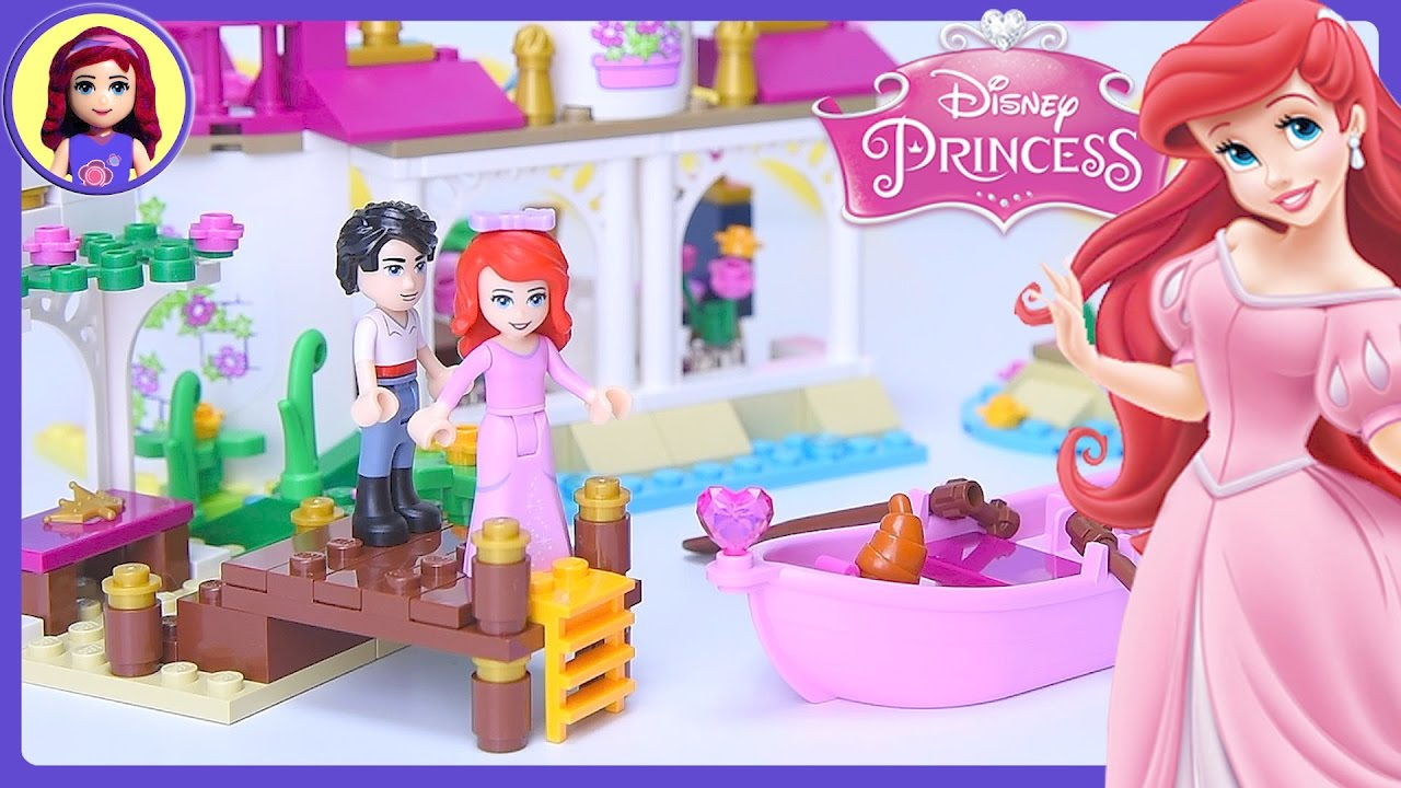 Lego Disney Princess Ariels Magical Kiss Little Mermaid Build