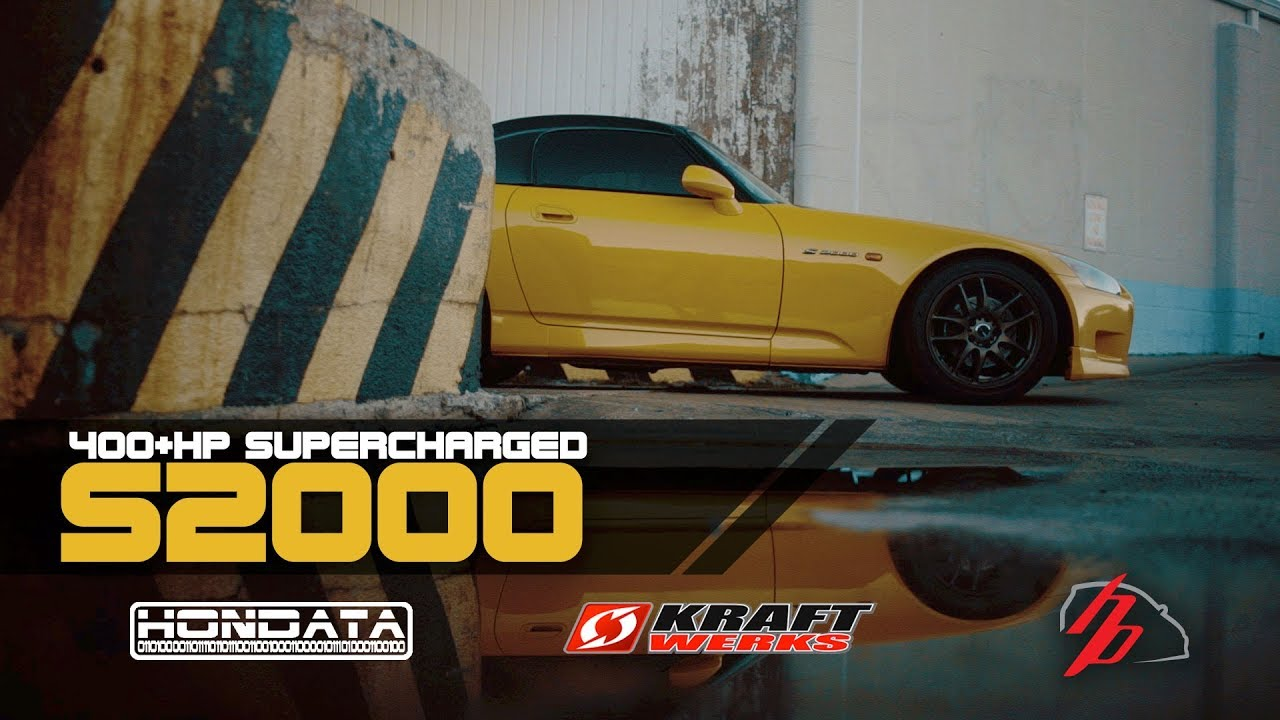 daily driven 400hp supercharged s2000 with hondata kpro [ 1280 x 720 Pixel ]