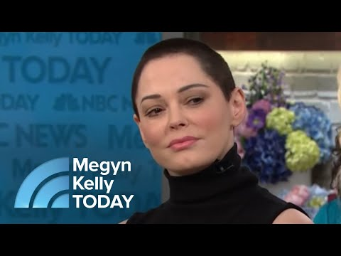 Rose McGowan On Harvey Weinstein: 'I Don't Ever Want To See Him Again'  Megyn Kelly TODAY