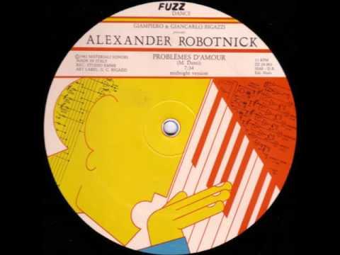 Alexander Robotnick - Problemes d´amour (midnight version) 1983