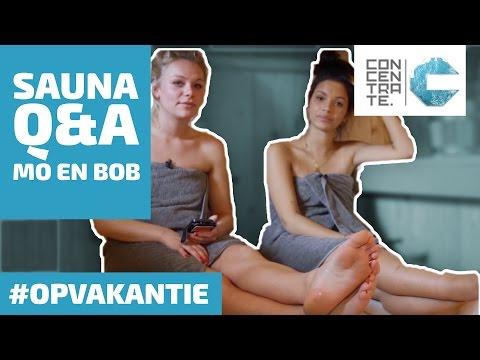 SAUNA Q&A met Mo en Bob - CONCENTRATE