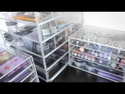 MUJI (Makeup Storage) - YouTube & Clear Cube vs. MUJI (Makeup Storage) - YouTube