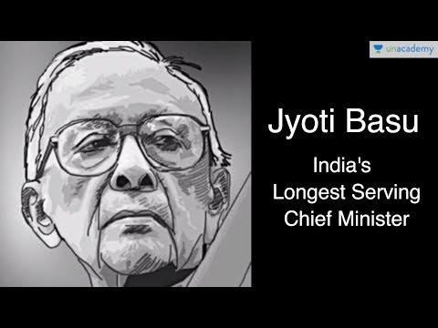 Remembering Jyoti Basu - India's longest-serving Chief Minister - Unacademy Bytes