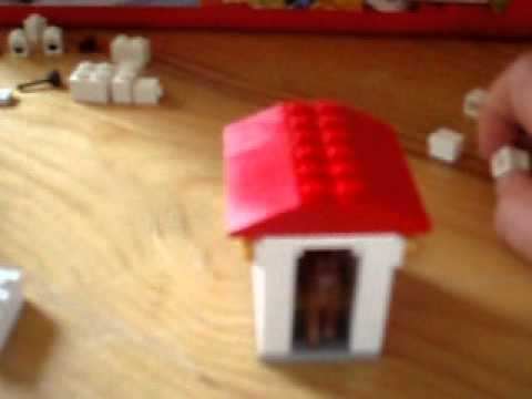 comment construire une niche en lego youtube. Black Bedroom Furniture Sets. Home Design Ideas