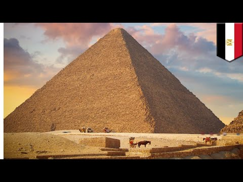 Great Pyramid: Large void detected using cosmic rays inside Khufu's Pyramid at Giza - TomoNews