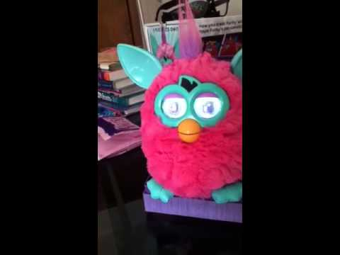 how to change furby boom personality to princess