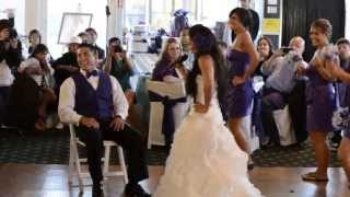 Surprise Wedding Bridal party Song and dance (Ke$ha Remix)