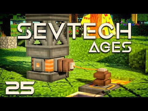 SevTech :Ages EP25 Thermoelectric Power + Oil Core Sample
