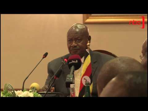Museveni Woos Qatar Investors