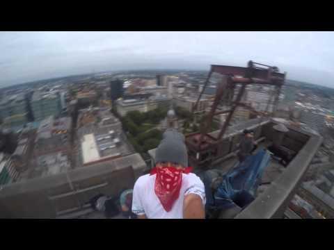 Birmingham HSBC bank high selfie