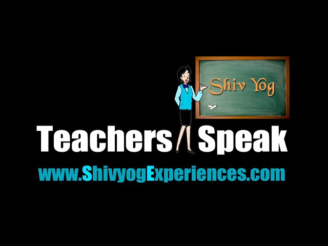 Teacher Speaks ~ Smt. Pallavi