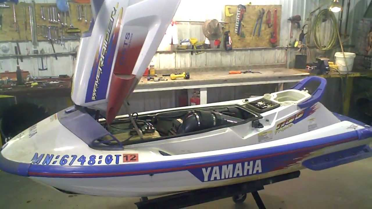 Lot 1312a 1995 Yamaha Waveraider 1100 Running Jet Ski