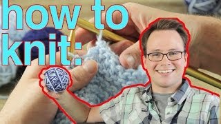 How To Knit: The Very Basics!