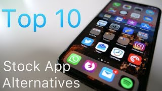 Top 10 Stock iPhone Replacement Apps