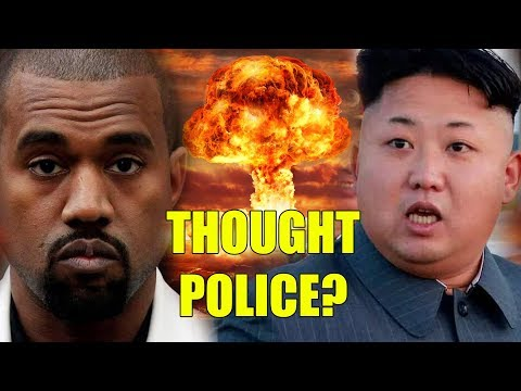 LIVE! What Did Kanye And Kim Jong Un Just Say? Thought Police?